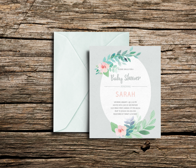 light_green_baby_shower_display